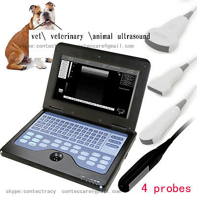"Promotion 10.1""VET Laptop Ultrasound Scanner Machine,animal Horse/Cow Veterinary"