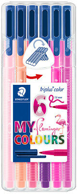 "STAEDTLER Fasermaler triplus color ""MY flamingo COLOURS"" 6er"