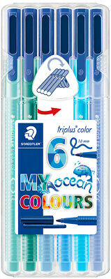 "STAEDTLER Fasermaler triplus color ""MY ocean COLOURS"" 6er"
