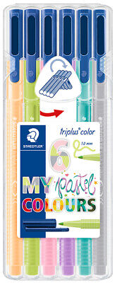 "STAEDTLER Fasermaler triplus color ""MY pastel COLOURS"" 6er"
