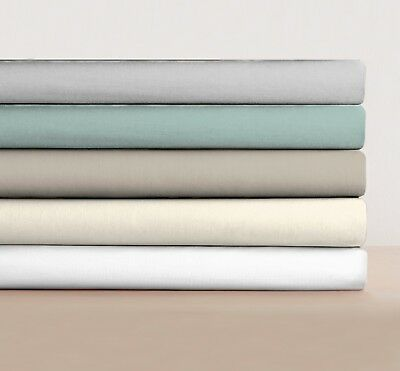 Fitted Sheet Bed Sheets 100% Egyptian Cotton & Pillow Cases Single Double King