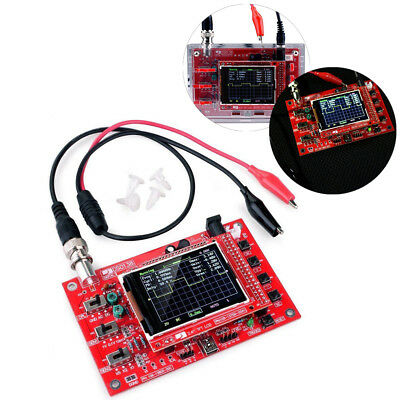 """Fully Welded Assembled DSO138 2.4"""" TFT Digital Oscilloscope (1Msps) + Probe AS"""