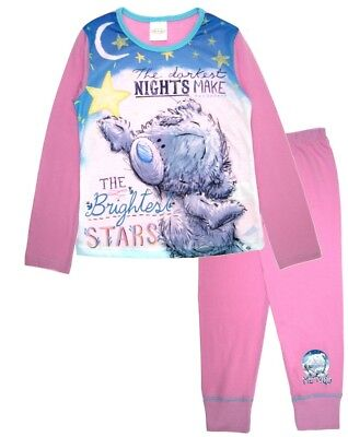 Girls Tatty Teddy Long Pyjamas Kids Me To You 2 Piece PJs Set Brightests Stars