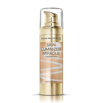 Max Factor Skin Luminizer Miracle Foundation | Light Ivory 40 | Healthy Glow
