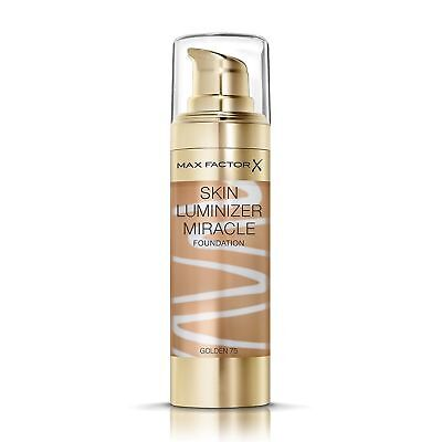 Max Factor Skin Luminizer Miracle Foundation | Golden 75 | Healthy Glow