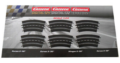 Carrera 20573 - Digital 132/124/Evolution Kurve 3/30  NEU und OVP