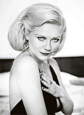 Kirsten Dunst With Hand On Chest 8x10 Quality Photo Print