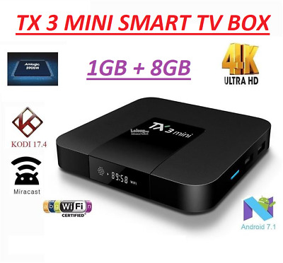 HOT SELL!! TX3MINI Smart Tv Box 4K Android 7.1 Amlogic S905W Ultra HD WIFI MXQ