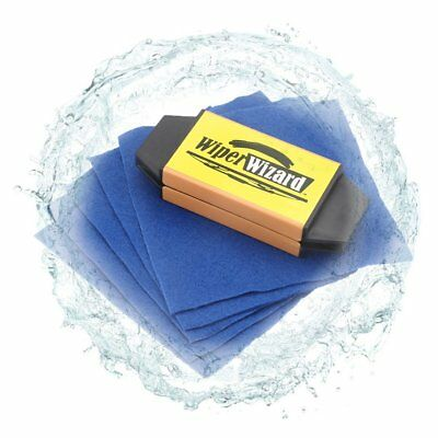 Car Breeze Wiper Blade Restorer with 5 pcs Wizard Wipes Wiper Cleaning Brush Q9