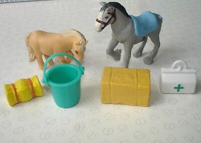 Puppy In My Pocket Pony In My Pocket Mixed Bundle with 2 x Horse Figures