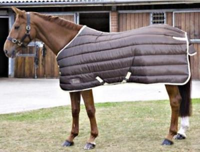 """Shires Tempest Stable Rug 300g Brown/Beige Clearance 6'6"""" and 7'3"""""""