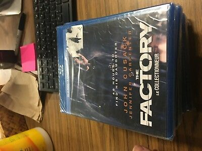 The Factory (Blu-ray dvd 2012) John Cusack sealed fast shipping