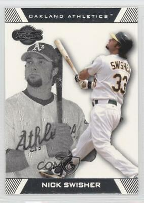 2007 Topps Pepsi Food Issue P2 Nick Swisher Oakland Athletics