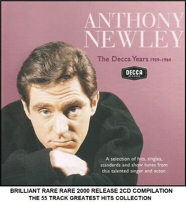 Anthony Newley - Very Best Essential Greatest Hits Collection 1959-64 - RARE 2CD