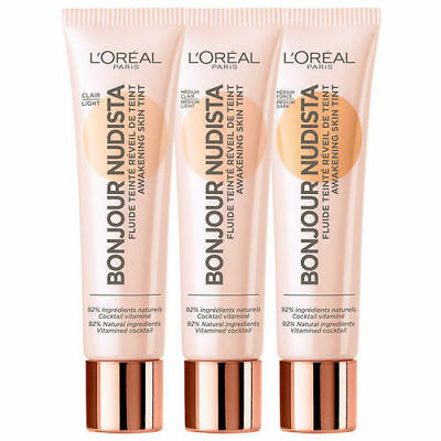 L'OREAL Bonjour Nudista Awakening Skin Tint Foundation - Choose Shade - NEW