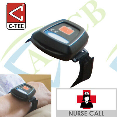 Infrared Patient Wrist Pendant (push for call) remotely trigger standard calls