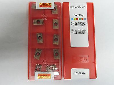 SANDVIK R390-170408M-PM 1030 10pcs//box R390-17 04 08M-PM 1030