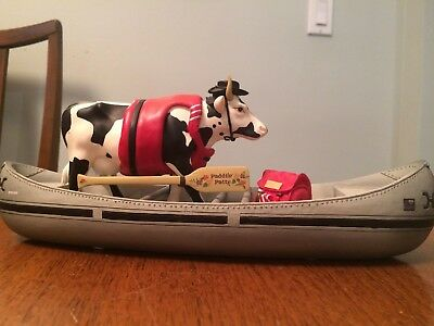 Moovin' On Down the Mighty Mo-nothing cow parade figurines