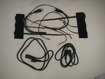 Two (2) Complete Headset Kits For Honda Goldwing Motorcycle Intercom