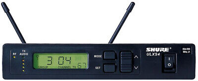 Shure ULXS4-J1 Standard Receiver with PS40 Power Supply and 1/4 Wave Antennas.
