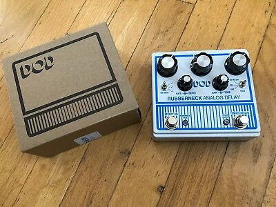 DOD Rubberneck Analog Delay - Free U.S. Shipping!