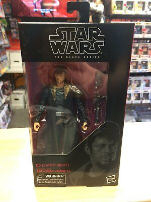 "DJ (Canto Bight) Star Wars the Black Series The Last Jedi 6"" Action Figure"