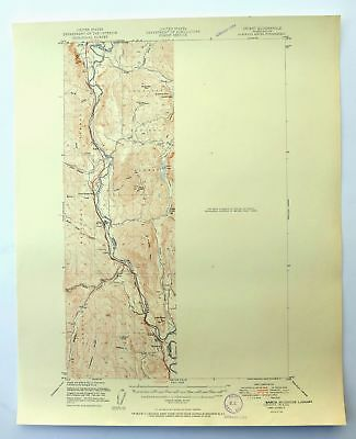 Orient Washington Vintage 1951 USGS Topographic Map Colville NF 15-minute Topo