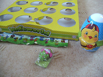 """2**Kidsworld*Figur""""Happy Easter""""Oster-Hase -aus Pudding-Überraschung´s-Ei-Norma"""