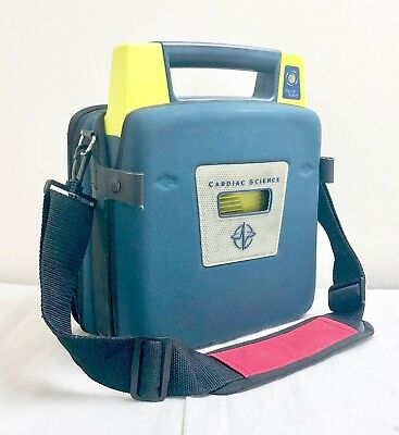 Cardiac Science G3 Pro Aed Defib + Case No Battery Or Pads Heartstart