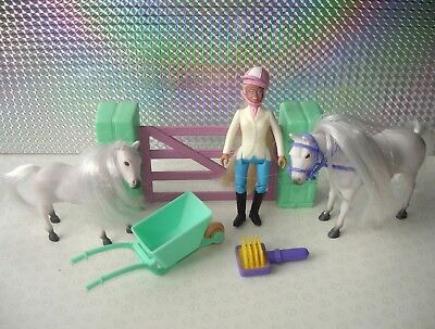 Animal Hospital Pony In My Pocket Mixed Bundle with 2 x Horse Figures