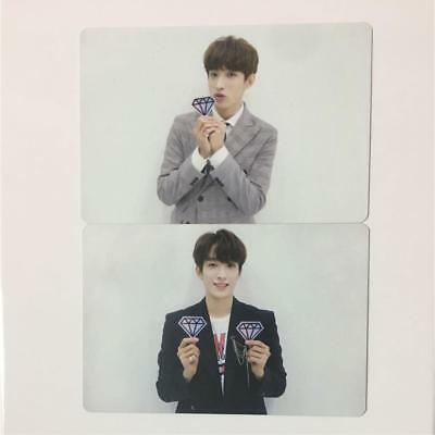 SEVENTEEN DK IDEAL CUT SEOUL 3rd CARAT ZONE Official  photocard 2 type SET