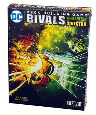 DC DECK-BUILDING GAME CROSSOVER PACK 5 THE ROGUES NEW SEALED