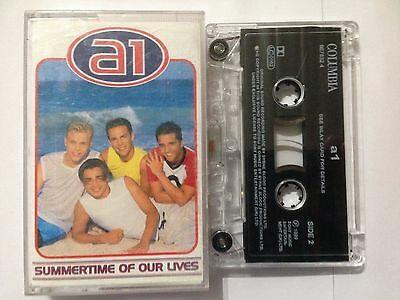 A1 Audio Cassette Single  1999 SUMMERTIME OF OUR LIVES **Free UK Postage**