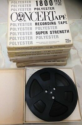 Radio Shack Concert Sound Recording 7 Inch Reel To Reel Tape. Good Condition.