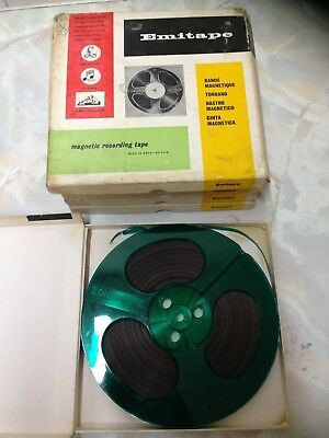 EMITAPE Sound Recording 7 Inch Reel To Reel Tape. Good Condition.