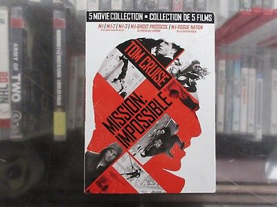 BRAND NEW Mission: Impossible 5-Movie Collection (DVD)