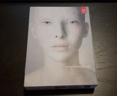 NEW Sealed Adobe Photoshop CS6 for Windows 7/10 Retail GENUINE 65158237
