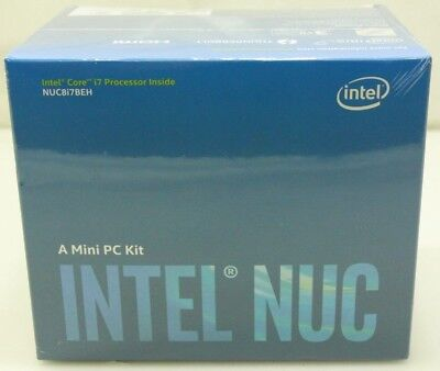 Intel NUC8i7BEH 8th Gen Core i7 Desktop Mini PC Kit - BRAND NEW - Free Shipping