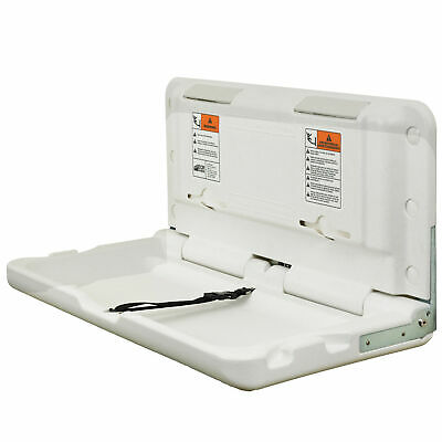 ECR4Kids Horizontal Mounted Fold Down Commercial Baby Diaper Changing Station