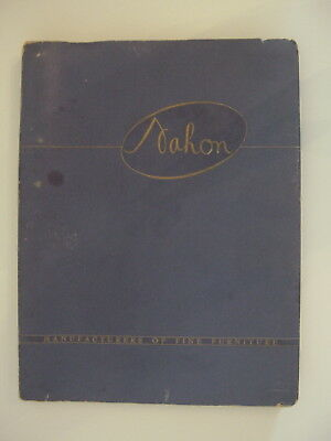 Vintage Nahon Antique Furniture Catalog / Reproductions Of 18th & 19th Century