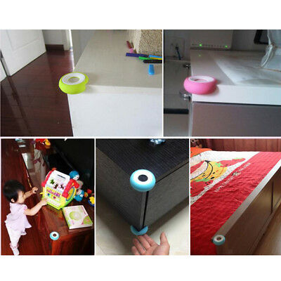 Baby Kids Safety Desk Table Edge Cushion Cover Protector Corner Guard - 4 Pieces