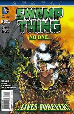 Swamp Thing (2011 series) Annual #3 in Near Mint + condition. DC comics