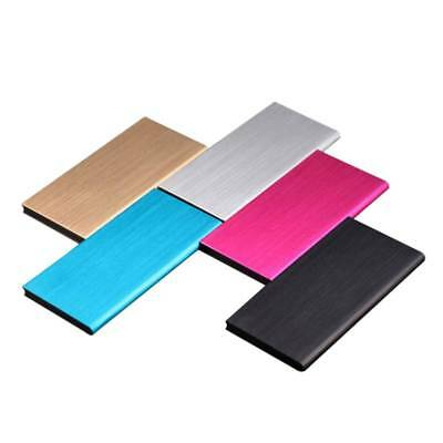 Portable Ultra Thin 20000mAh USB Charger Power Bank Battery For iPhone Samsung