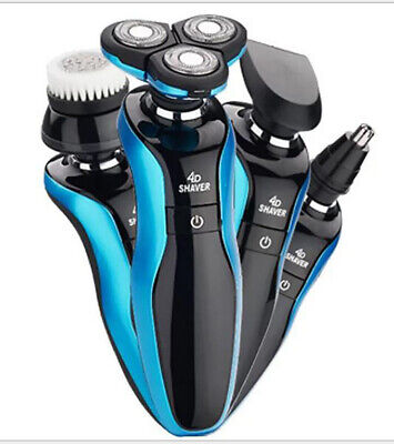 Electric Razor Shaver Wet Dry Waterproof Cordless Rechargeable Rotary New