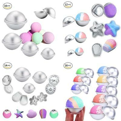 DIY Metal Bath Bomb Mold Alloy Bomb Ball Mould Crafting Handmade Soap Tools