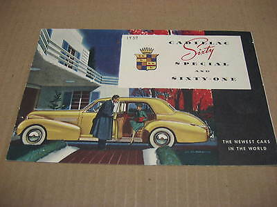 1939 Cadillac Sixty Special and Sixty One Brochure