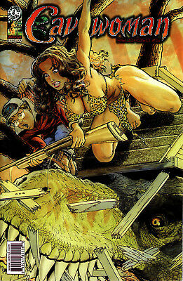 Cavewoman: Reloaded #5 Nm+ Standard Budd Root Cover 2006 Amryl Ent.