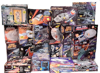 Star Trek Playmates Starship/Playset Collection- Boxed- Your Choice of 25 Diff
