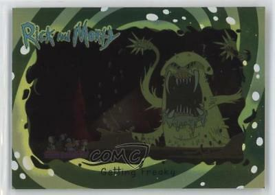 2018 Cryptozoic Rick and Morty Season 1 Foil #12 Getting Freaky Card 2o7
