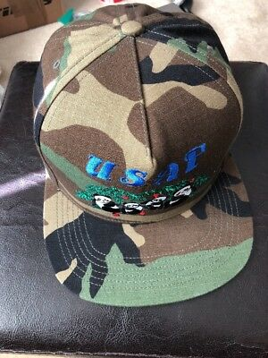 9815457dc8a NEW SS17 Supreme Pandas 5 Panel Woodland Camo hat USAF With Online  Confirmation